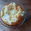 [en cuisine] le cas de la tarte chèvre-maïs qui n'était pas une tarte....