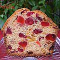 Gâteau de Pourim #4 : Cake aux <b>fruits</b> <b>confits</b> de Pierre Hermé, un cake classique particulièrement savoureux