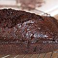 Cake carrément chocolat (pierre hermé)