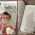 Les livres violetta (cadeau)