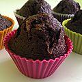 Monstrueux muffins au chocolat