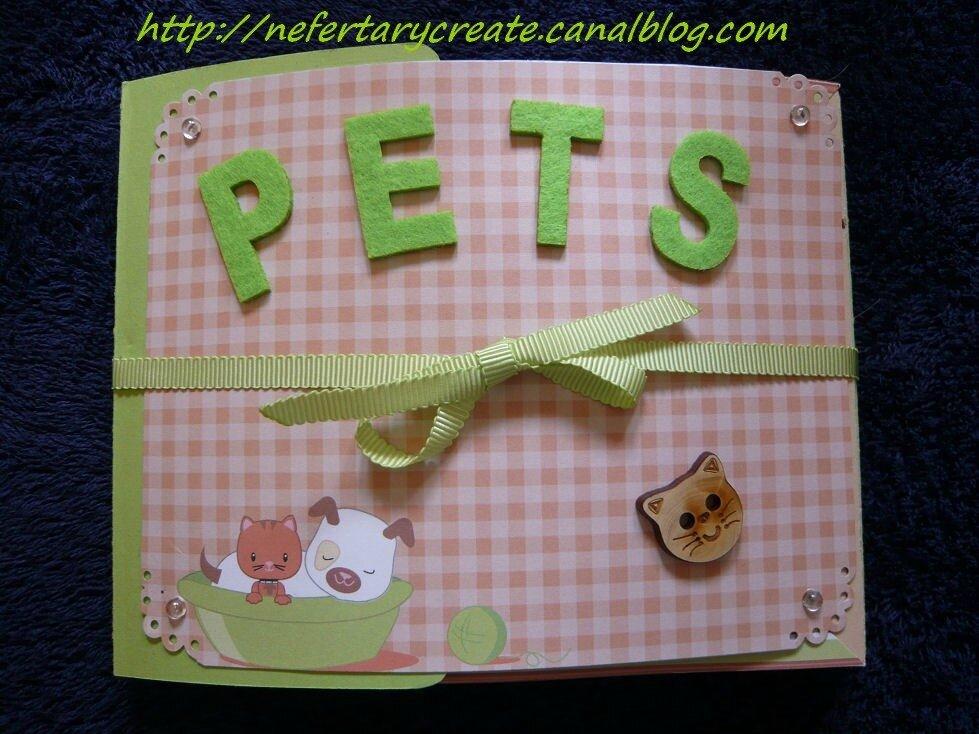 Mini album pets