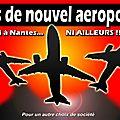 pas de nouvel aéroport à Nddl