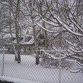 La villa sous la neige