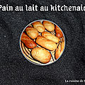 <b>Pain</b> au lait au kitchenaid