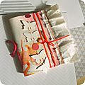 Swap art journal noël 2013
