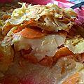 Gratin de panais carottes