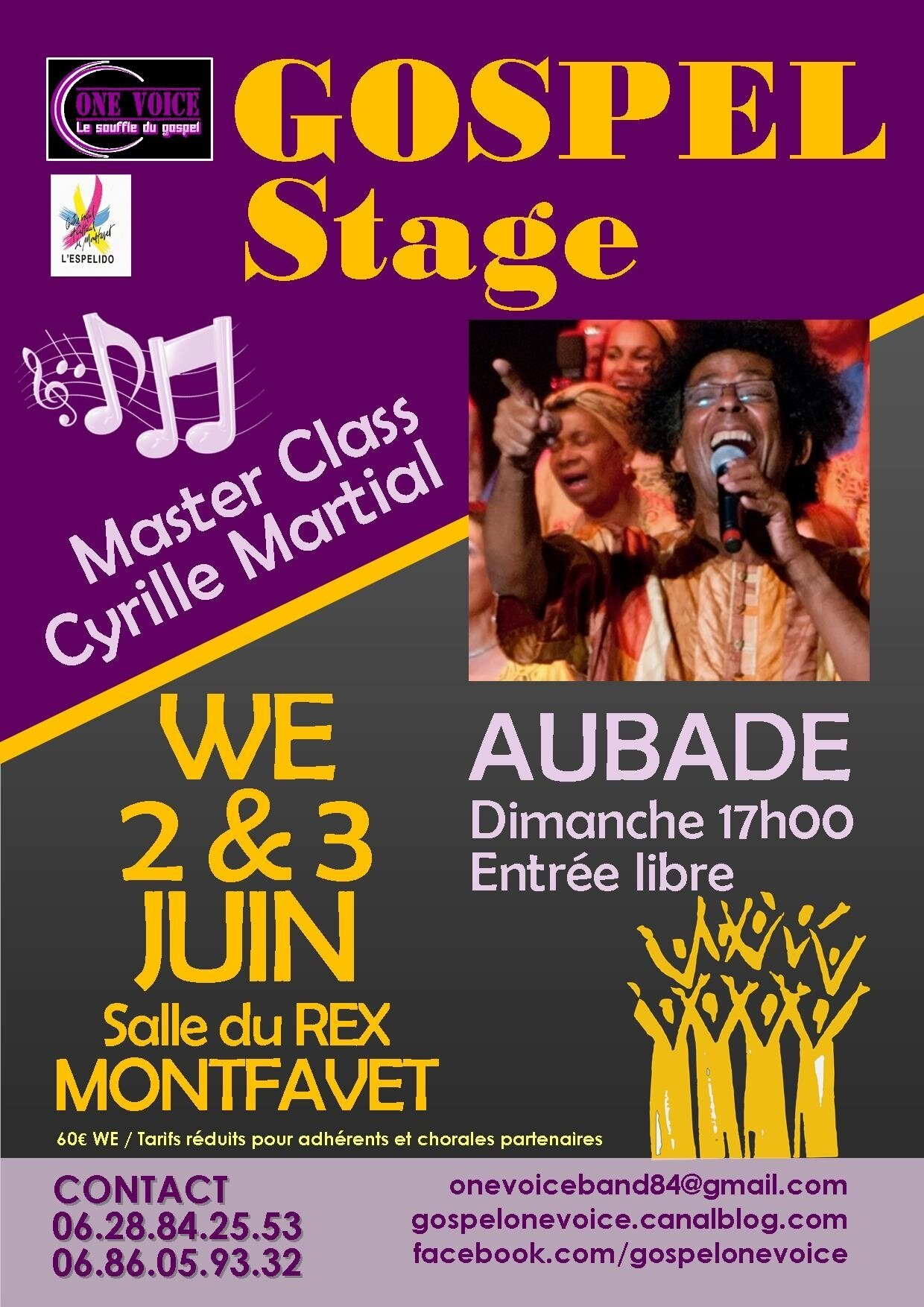 MASTER CLASS CYRILLE MARTIAL