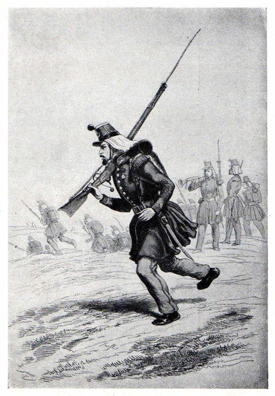 Un carabinier du 8e d'Orléans