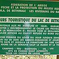 Parcours touristique du lac