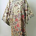 Coat, 1800–1943, chinese, silk, metal