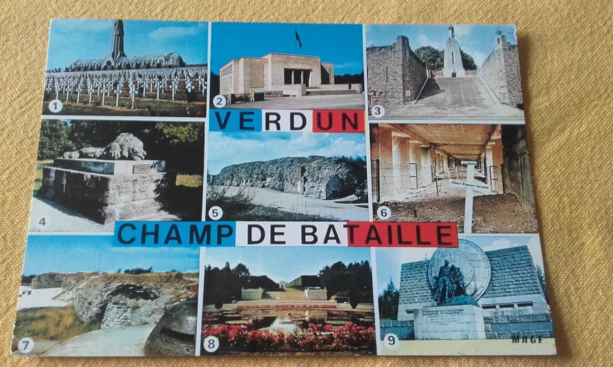 Verdun datée 1973