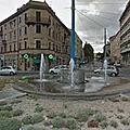 Rond-point à <b>Ancône</b> (Italie)