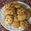 Cookies du tea time de dimanche