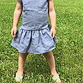 Première robe d'été