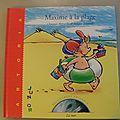 Maxime à la plage, Christian Merveille, <b>collection</b> <b>découvrons</b> <b>ensemble</b>, éditions Artoria Junior