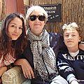Nièce, tante et fiston (Cerbère, mai 2013)