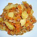 Poêlée de légumes ( rutabaga, pommes de terre et carottes )