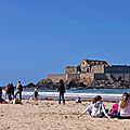 St Malo par temps bleu