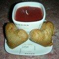Petits coeurs de pain d'épice 2007