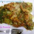 Canellonis aux épinards et au roquefort