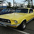 Ford mustang gta fastback coupe - 1967