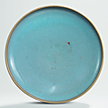 A Jun dish, <b>Jin</b>-<b>Yuan</b> <b>dynasty</b> (<b>1115</b>-<b>1368</b>)