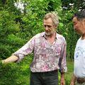 Il a eu le temps de se former à la botanique française avec mon père