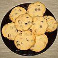 Cookies aux 3 chocolats de laura todd