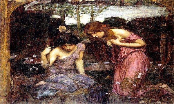john_william_waterhouse_85_nymphs_finding_the_head_of_orpheus_study