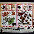 Livre textile : carnet de voyage au Maroc