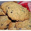 <b>Cookies</b> aux flocons d'avoine et aux pépites de chocolat , une autre recette