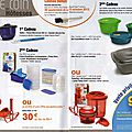 Mini <b>catalogue</b> <b>TUPPERWARE</b> octobre 2013