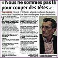 Benoit D'Abbadie Président de la nouvelle Commission Taurine de <b>Béziers</b> (<b>CTEM</b>)