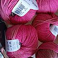 *Finir de tricoter l'été...