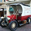 Ford model t main street deliveries truck réplica par severn lamb