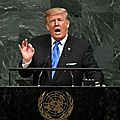 Nations unies: trump, rocket man & jupiter