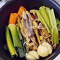 Diy - bouillon de volaille maison (ou comment éviter le gaspillage et recycler des restes de poulet)