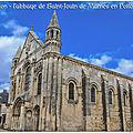 Ension, une des plus anciennes fondations monastique qui s'éleva dans les Gaules. (l'abbaye de Saint-Jouin de Marnes en Poitou)