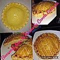 <b>Galette</b> des rois à la frangipane faites au companion et pâte feuilletée escargot faites au companion aussi et cuite au cake fact
