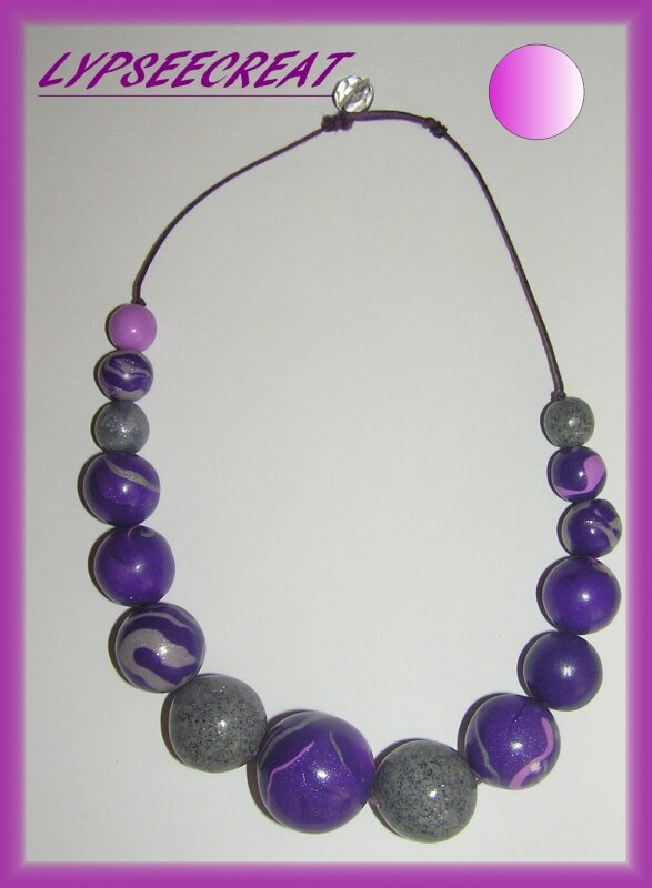 collier-fimo-ribambelle-violet