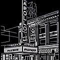 Apollo theater - Linogravure