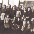 Ecole communale, Sainte-Foy, 1945