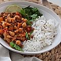 <b>Curry</b> de lentilles