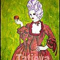 Marie-Antoinette et son macaron