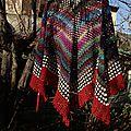 Paprika shawl