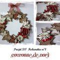 <b>Couronne</b> de <b>Noël</b> récup: tuto