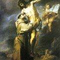 Saint François et Jésus