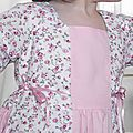 Robe fleurie rose Gretchen Modkid 3 ans 066