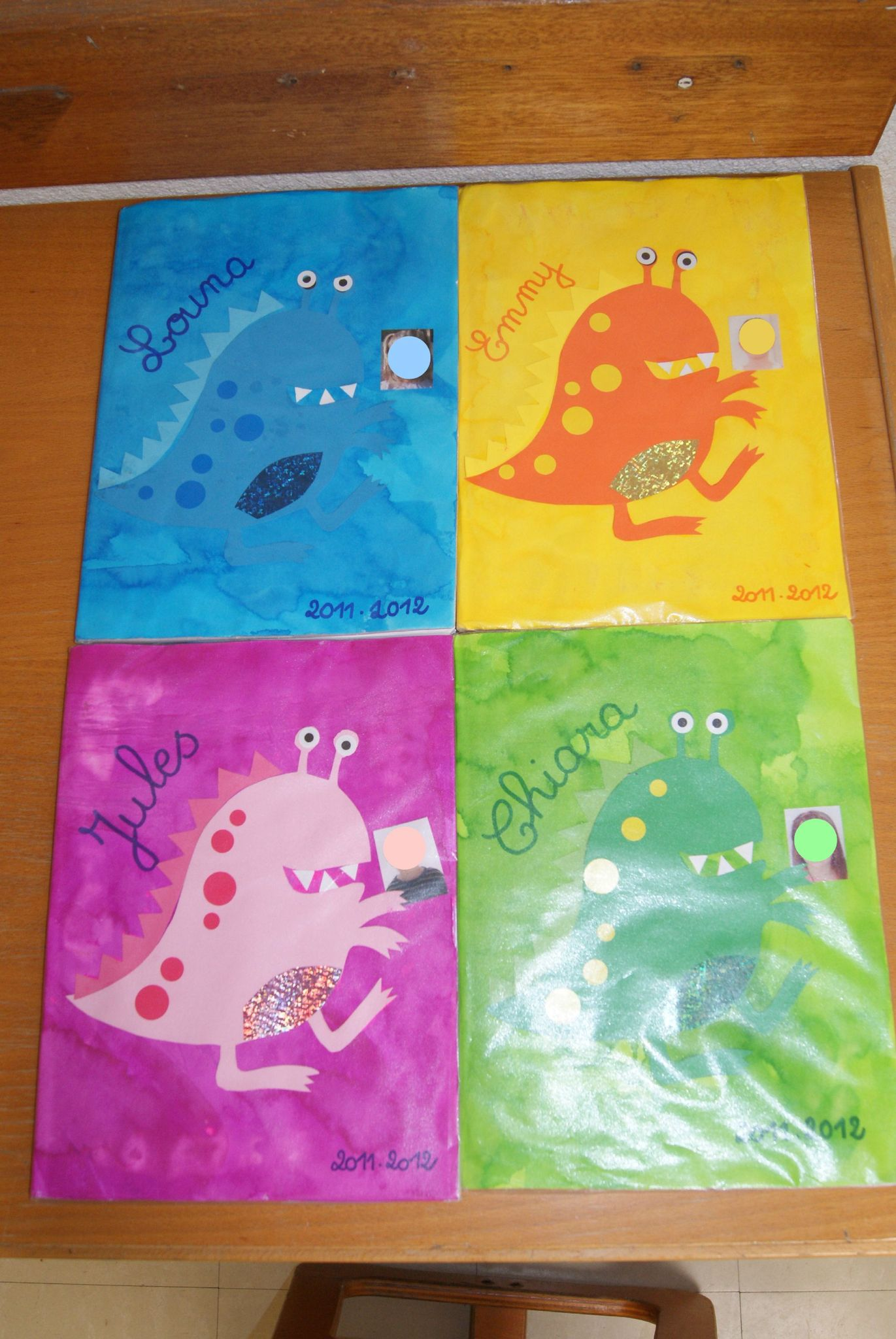 Couvertures de cahiers thème